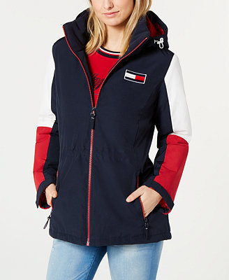 Colorblocked Anorak Jacket, Created For Macy's by Tommy Hilfiger