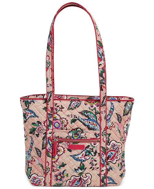 d3ef0824bd5d Vera Bradley Iconic Small Vera Tote - Handbags   Accessories - Macy s