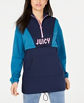 Juicy Couture Colorblocked Logo Pullover Top 3d18555cb