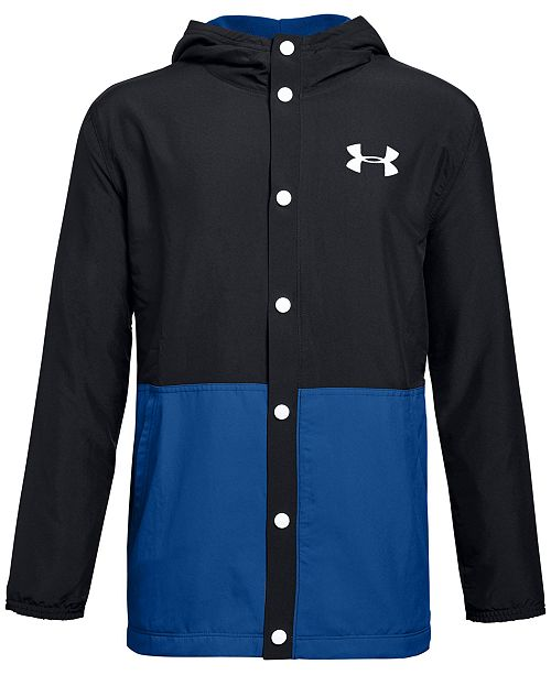 Under Armour Big Boys Phenom Colorblocked Hooded Jacket