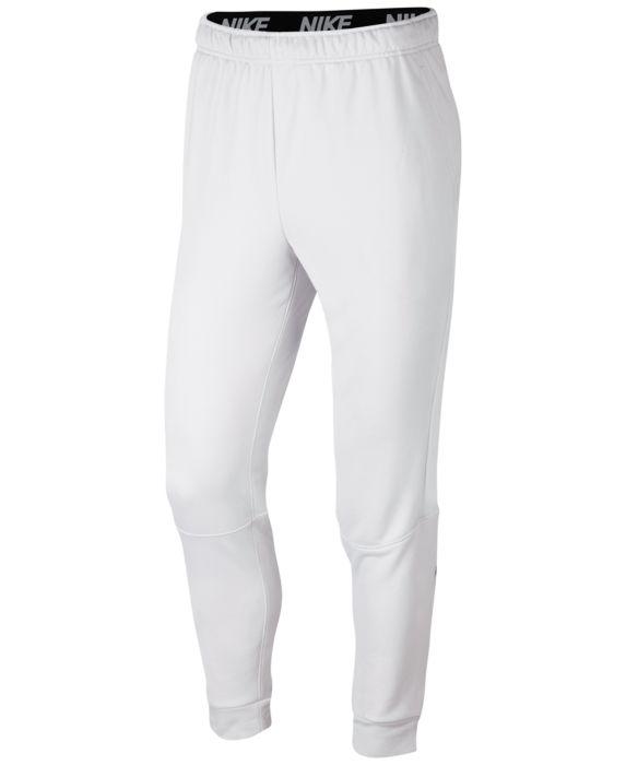 Nike Mens Dry Training Pants, Gray, Size: XL