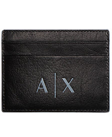 A|X Armani Exchange Men's Leather Cardholder