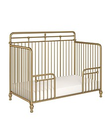 Monarch Hill Hawken 3 in 1 Convertible Metal Crib