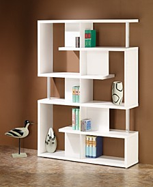 Dexter Five Tier Double Bookcase