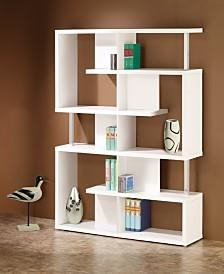 Dexter Five Tier Double Bookcase