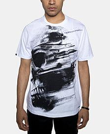 Sean John Men's Abstract Skull Graphic T-Shirt
