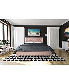 Novogratz Her Majesty Full Bed