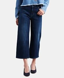 Levi's® Cropped Wide-Leg Jeans