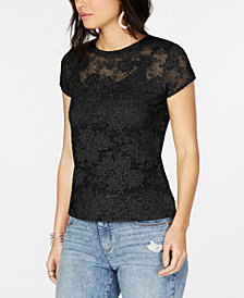 I.N.C. Lace Top, Created for Macy's