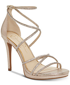 Jessica Simpson Jaeya Strappy Dress Sandals