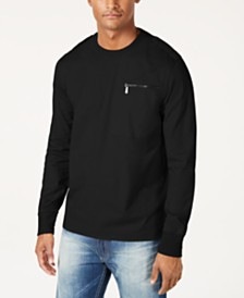 Sean John Men's Knit Flight Shirt