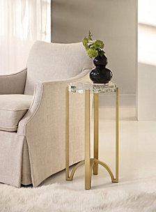 Skyline Metal Accent Table