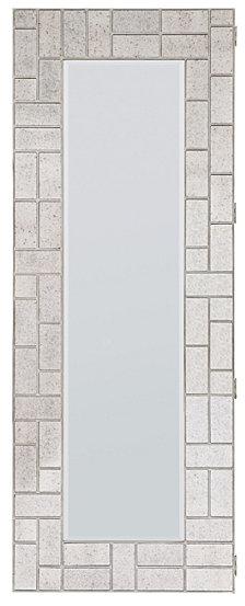 Melange Lumiere Floor Mirror with jewelry storage