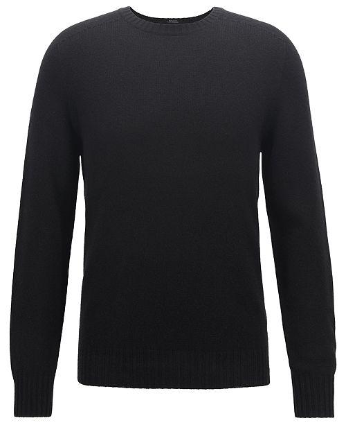e158f832b15 Hugo Boss BOSS Men's Cashmere Sweater & Reviews - Sweaters - Men ...