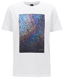 BOSS Men's Regular/Classic-Fit Graphic Cotton T-Shirt