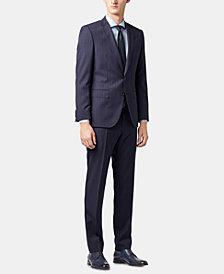 BOSS Men's Slim Fit Virgin Wool Suit