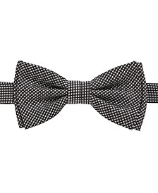 BOSS Men's Micro-Patterned Silk Bow Tie & Scarf Set