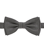 BOSS Men s Micro-Patterned Silk Bow Tie   Scarf Set bb7db27eeb7