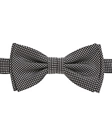BOSS Men's Micro-Patterned Silk Bow Tie & Scarf Set