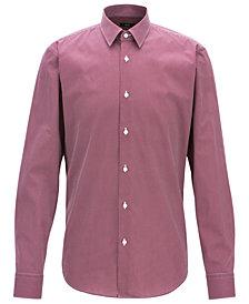 BOSS Men's Regular/Classic-Fit Cotton Shirt