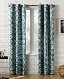Barnett Trellis Blackout Grommet Curtain Panel Collection