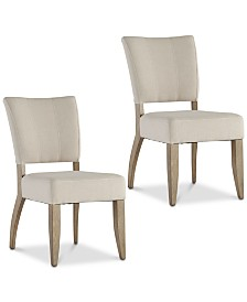 Dakota Dining Chair (Set of 2), Quick Ship