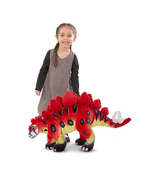 Melissa and Doug Stegosaurus - Plush - Dinosaur Toy