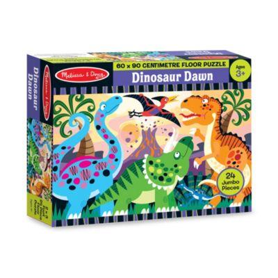Dinosaur Dawn Floor Puzzle (24 Pc) - Dinosaur Toy