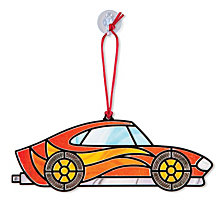 Stained Glass Made Easy - Race Cars Ornaments