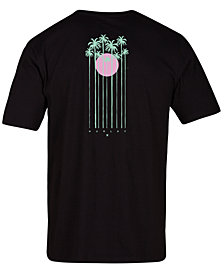 Hurley Men's Hidden Palms Graphic T-Shirt