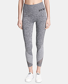 DKNY Sport High-Waist Seamless Ankle Leggings, Created for Macy's