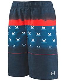 Under Armour Big Boys Stars & Stripes Volley Swim Trunks