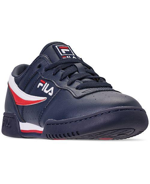 28fa64aebd74 ... Fila Men s Original Fitness Casual Athletic Sneakers from Finish ...