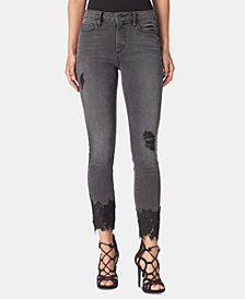 Jessica Simpson Juniors' Adored Curvy Skinny Ankle Jeans