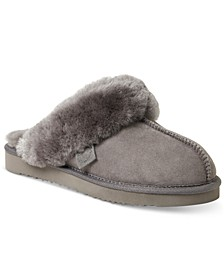 Fireside Women's Sydney Water Resistant Scuff Slipper