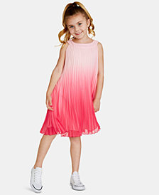 Rare Editions Toddler Girls Ombré Pleated Dress