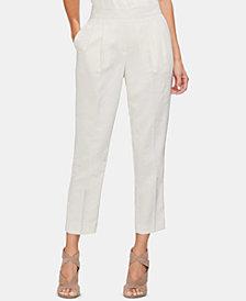 Vince Camuto Printed Jacquard Slim Pants