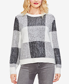 Vince Camuto Printed Sweater
