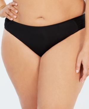 5fe389974f01e Becca Etc. Plus Plus Size Color Code Hipster Bikini Bottoms Women S Swimsuit  In Black