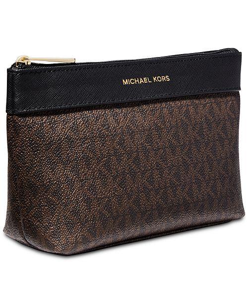 Michael Kors Receive a Free Michael Kors Logo Cosmetic Bag