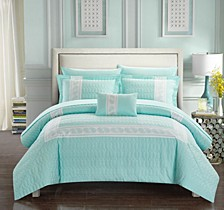 Titian 8-Pc. Bed In a Bag Comforter Sets