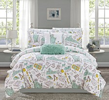 Liberty 7 Piece Twin Bed In a Bag Comforter Set