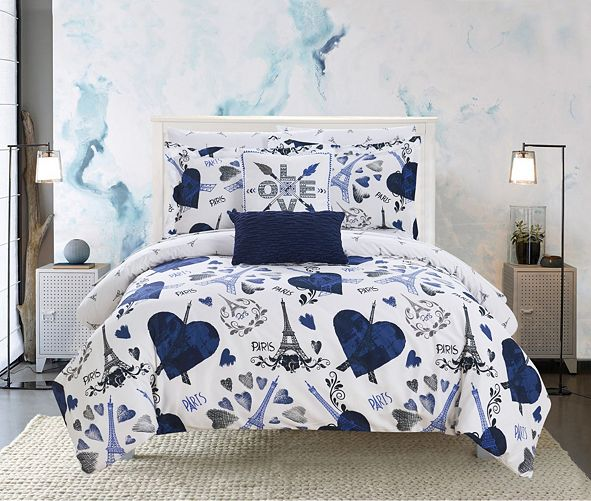 Chic Home Le Marias 7 Piece Twin Bed In a Bag Comforter Set