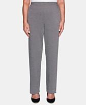 71334b4f6162d5 Alfred Dunner Grand Boulevard Solid Straight-Leg Pants