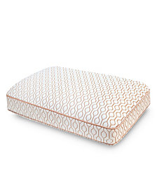 SensorPEDIC  Memory Foam Oversized Gusset Copper Infused Bed Pillow