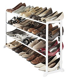 20-Pair Floor Shoe Stand