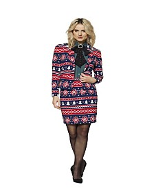 OppoSuits Women's Nordic Noelle Christmas Suit