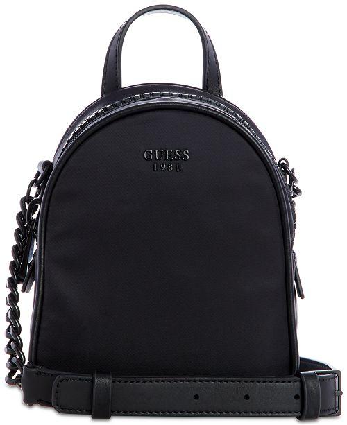 ca8d161898 Guess Urban Chic Mini Nylon Crossbody Handbags Accessories Y S