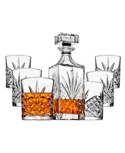 Godinger Dublin 7 Piece Whiskey Set