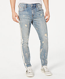 GUESS Men's Relaxed-Fit Ripped Jeans